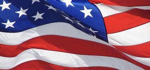 r-kempen amerikaanse vlag